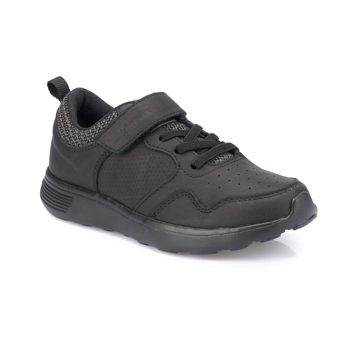 FLO HAYNES Black Male Child Sneaker Shoes KINETIX