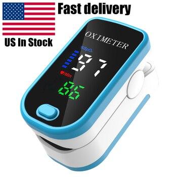алиэкспресс в рублях, Монитор уровня кислорода в крови с OLED-дисплеем, цифровой Пальчиковый Пульсоксиметр на кончик пальца, монитор насыщения кислородом без аккумулятора