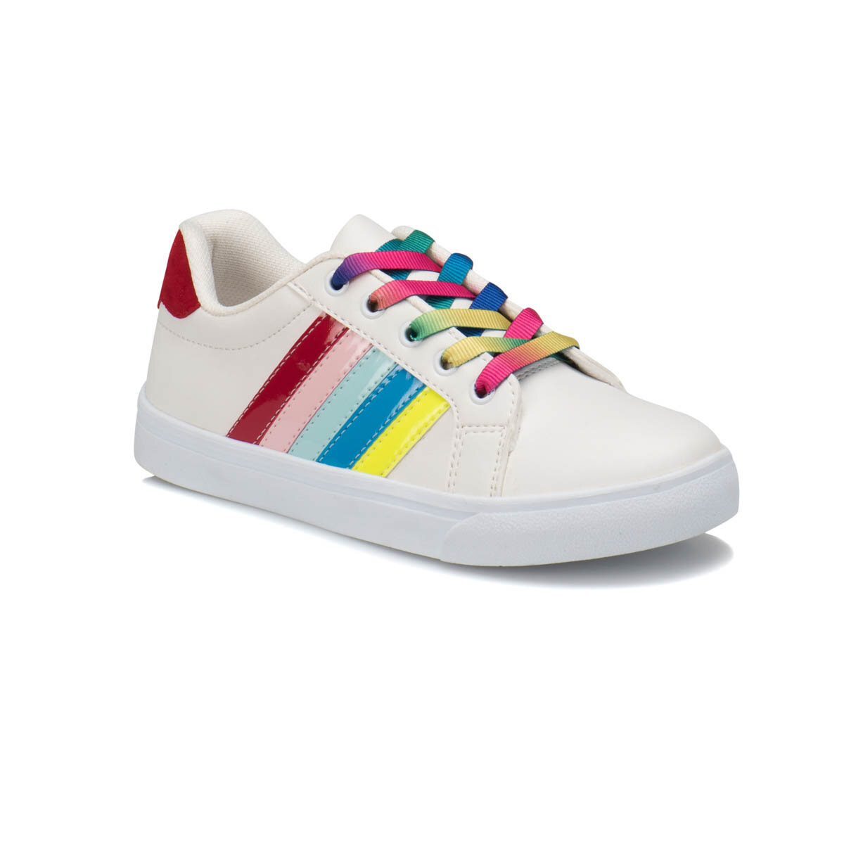 FLO FUNNY White Female Child Sneaker Shoes I-Cool