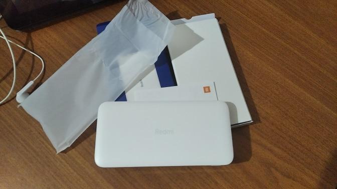 External Battery Xiaomi Redmi Fast Power Bank 10000 mAh White USB AX2, Type C charging small current trust bank powerbank paver bank solar power bank Power Bank    - AliExpress