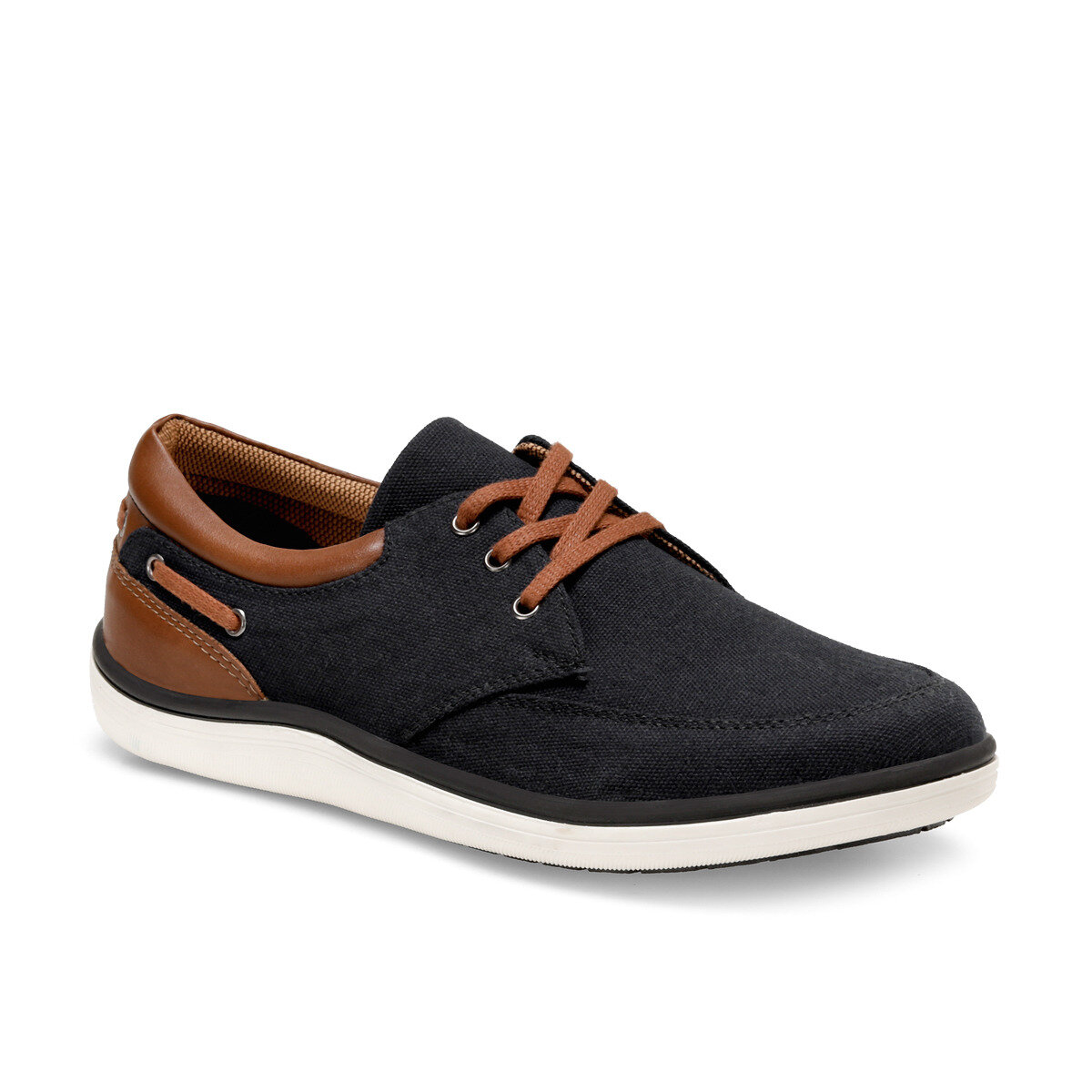 FLO LG-02 C Anthracite Men Shoes Oxide