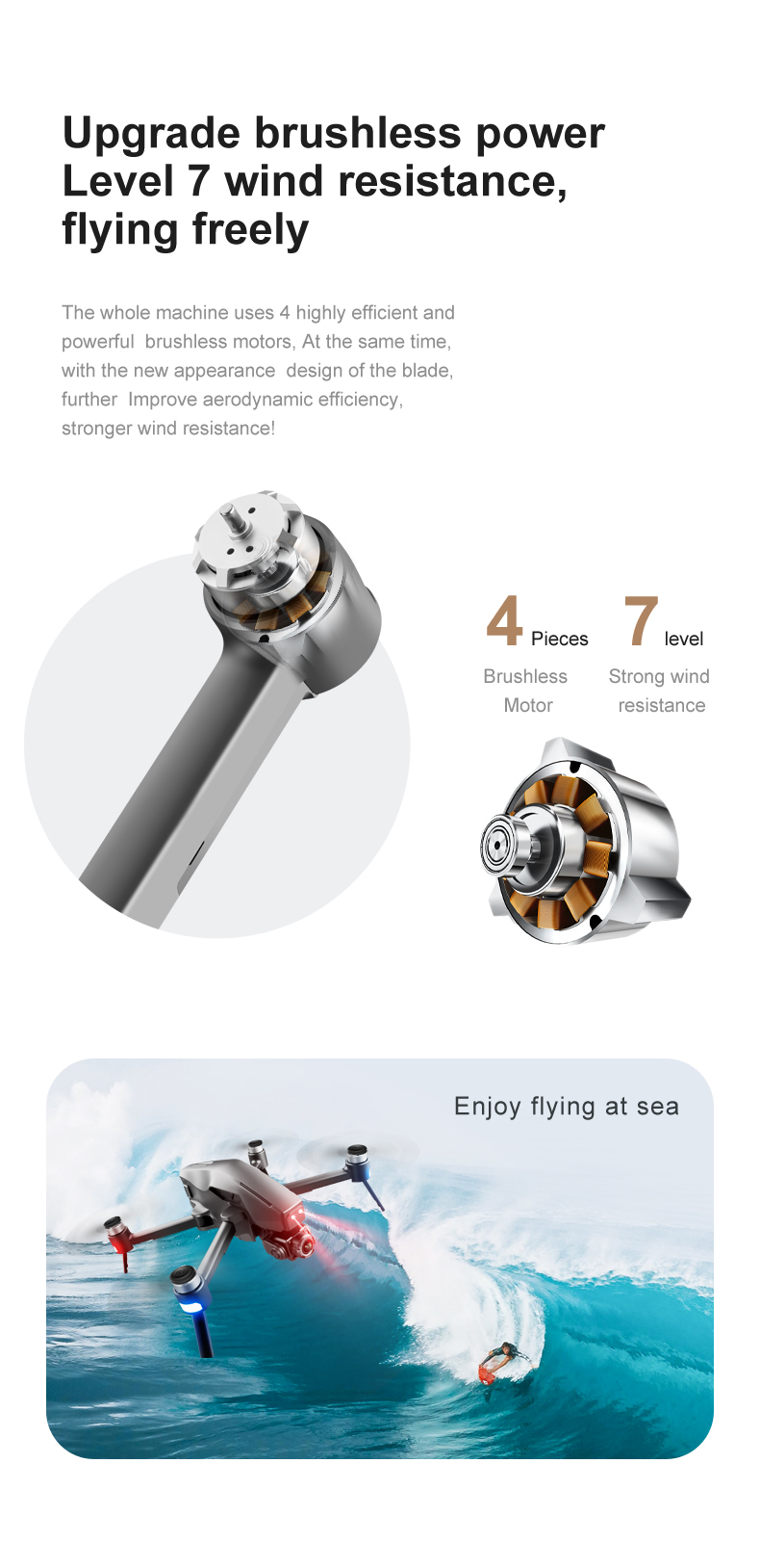 U65173c8b3af749d08f7a4bbcd24a49f6b - 2021 M1 Pro 2 drone 4k HD mechanical 2-Axis gimbal camera 5G wifi gps system supports TF card drones distance 1.6km