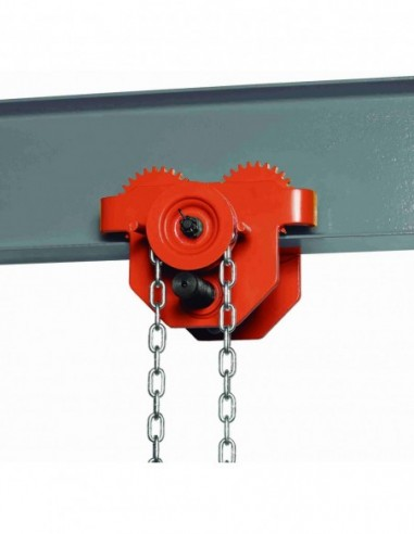 UNICRAFT 6171801 TROLLEY HANDBOOK WITH CHAIN FOR HOIST RFW 1-1 T