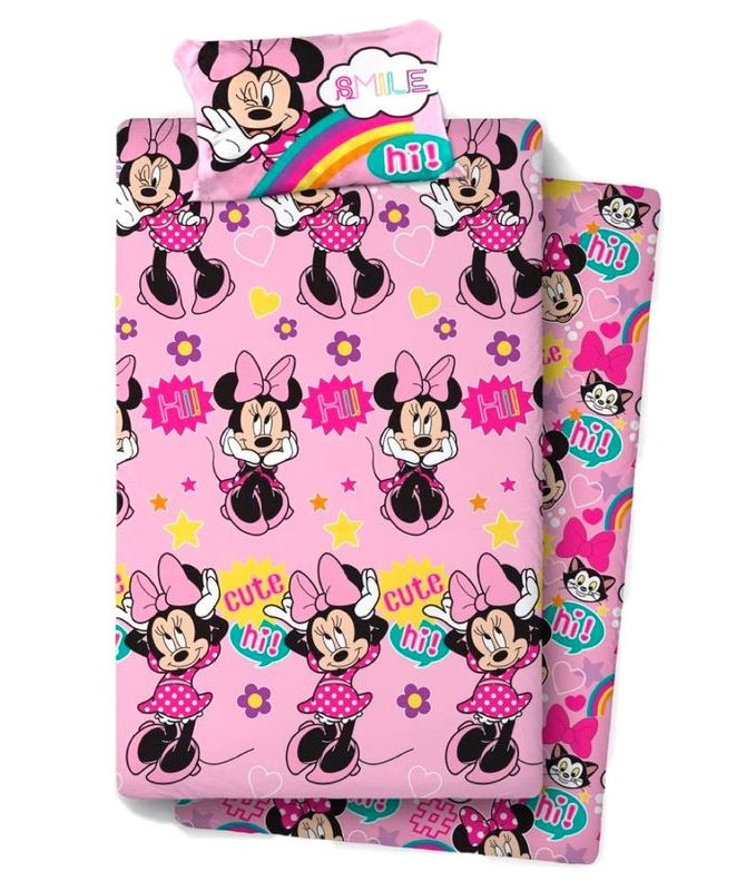Game Sheets Minnie Disney Bed 90Cm