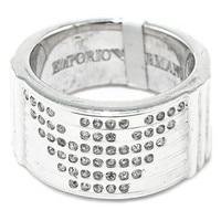 Ladies' Ring Armani EG203250 Silver