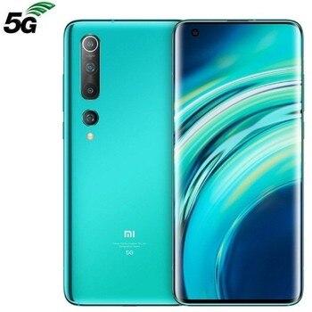 Xiaomi mi 10 coral green mobile Smartphone-6.67 '/16.9cm fhd + - snapdragon 865 - 8gb ram - 128gb - cam (108 + 13 + 2 + 2)/20 mp - 5g