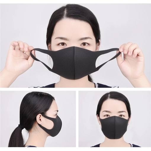 Removable противопыльная Mask Pitta Mask 3 PCs Set Universal Size Fast Shipping