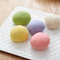 空气炸多彩糖果饺子的做法图解2