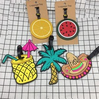 Mode Sommer Strand serie Gepäck Tag Reise Koffer Tasche Id Tags Adresse Label frauen gepäck tags reisen adresse label