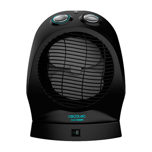 Portable Fan Heater Cecotec Ready Warm 9750 Rotate Force 2400W Black
