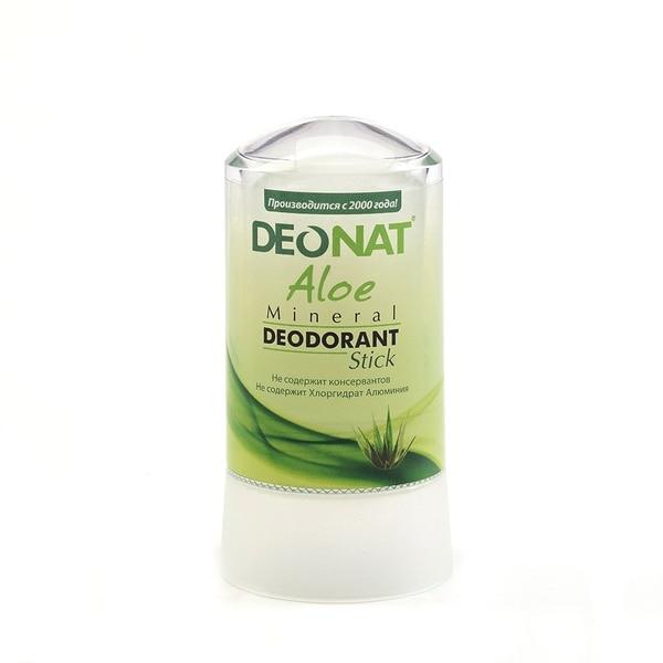 Deonat Deodorant Crystal With Aloe Juice, 60g