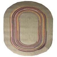 Mais juta tapete sisal coleção de fibra natural mão tecido área juta natural tapete para casa sala estar Tapete     -