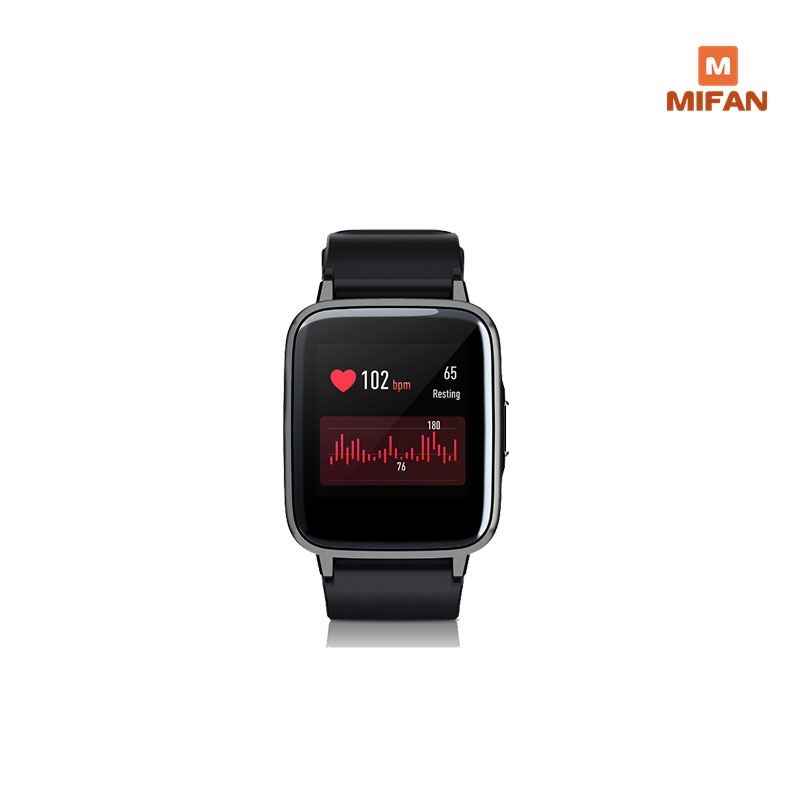 NO GLOBAL VERION Only Chinese Language Haylou LS01 Smart Watch, Sleep Management 9 Sport Modes Smart Band ,Fashion image