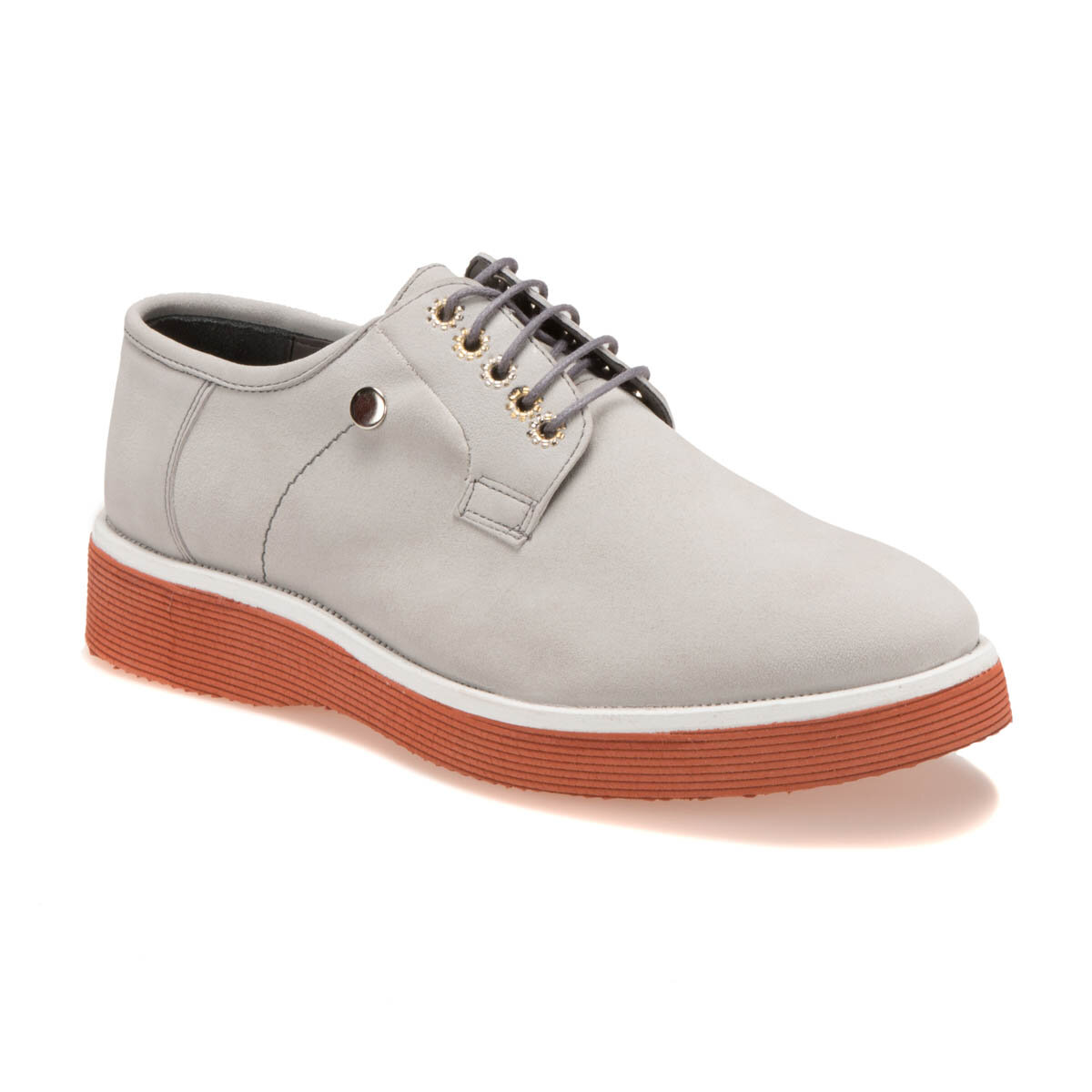 FLO 690-1 M 1506 Gray Men 'S Classic Shoes-Styles