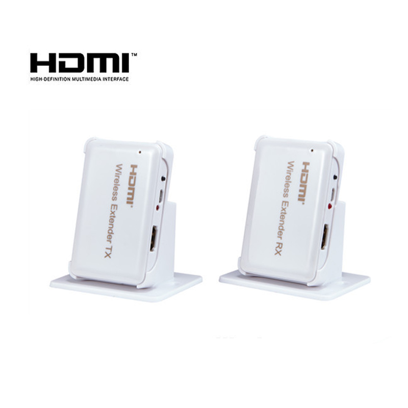 Extender Wireless HDMI Yatek YK-W30  reach 30 meters Maximo  60 GHz Resolution 1080 P  3D and HDCP title=