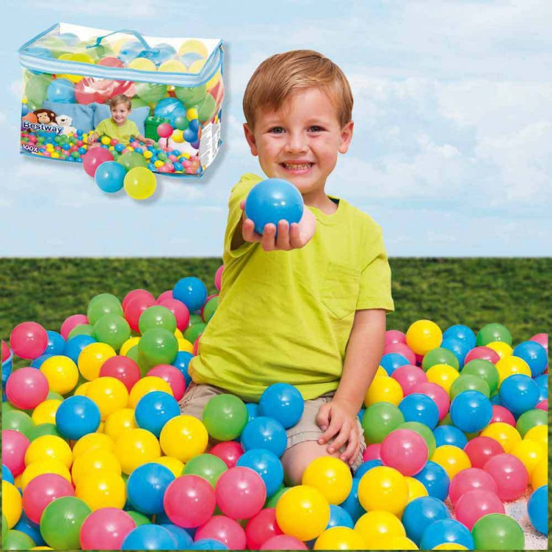 Balls For Pool Game (100 Pcs)