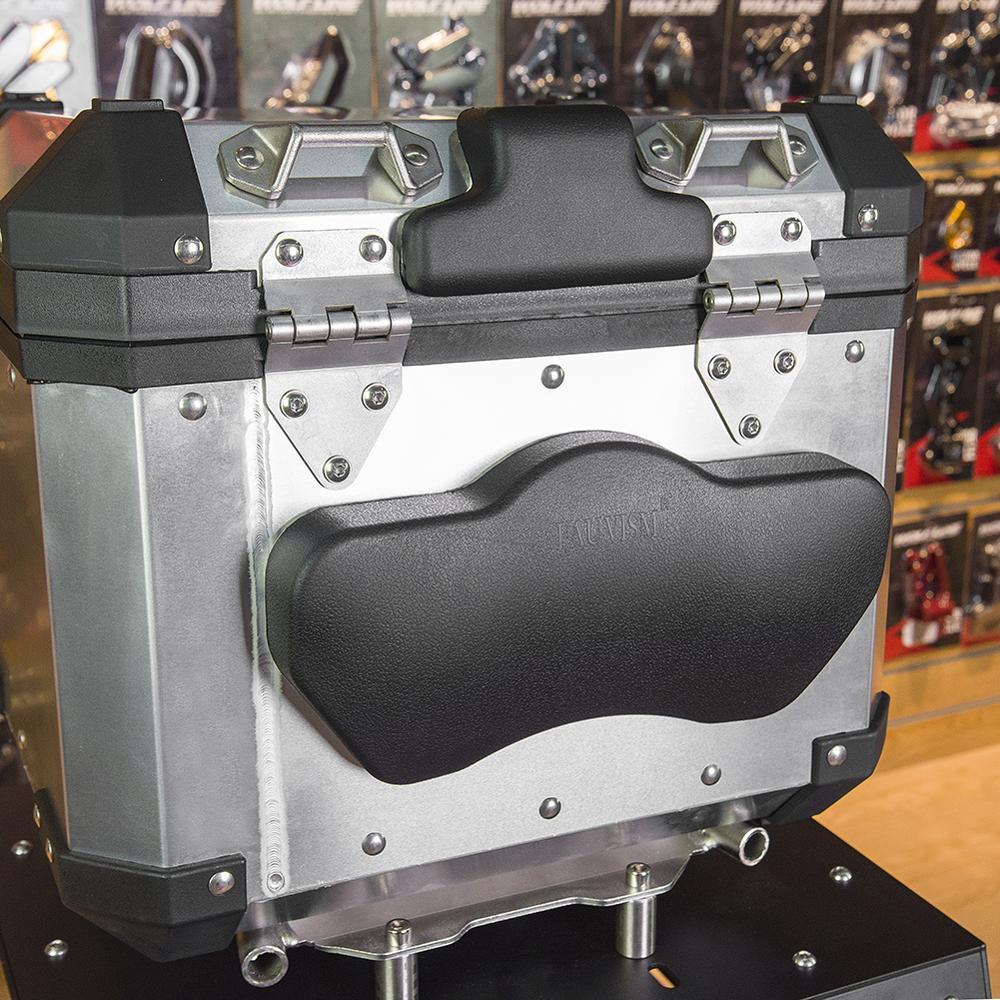 Para KTM Duke 950 990 1050 1090 1190 1290 Traseiro Top Caso Caixa de Sacos de Bagagem Almofada Almofada Do Encosto do Passageiro Da Motocicleta acessórios