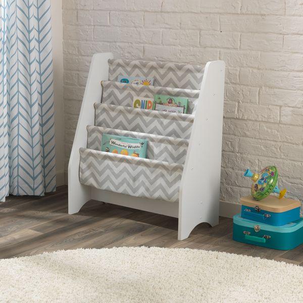 Children's Bookcases KidKraft  Storage System, Col. Gray Children's Furniture For Kids Furniture Set Bookshelf Bookshelves Bookcase Storage System