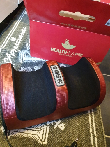 CareWell™ Heated Foot Massager photo review