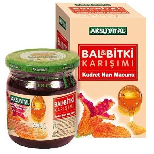 Aksu Vital Honey Bitter Pomegranate Paste 230 Gr
