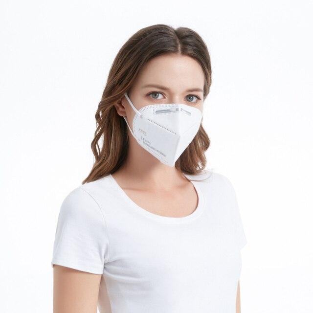 Fast Delivery Face Mask FFP2 Mask KN95 Dustproof KN95 masks Filter Filtration Protective Dust Mouth Mask 1