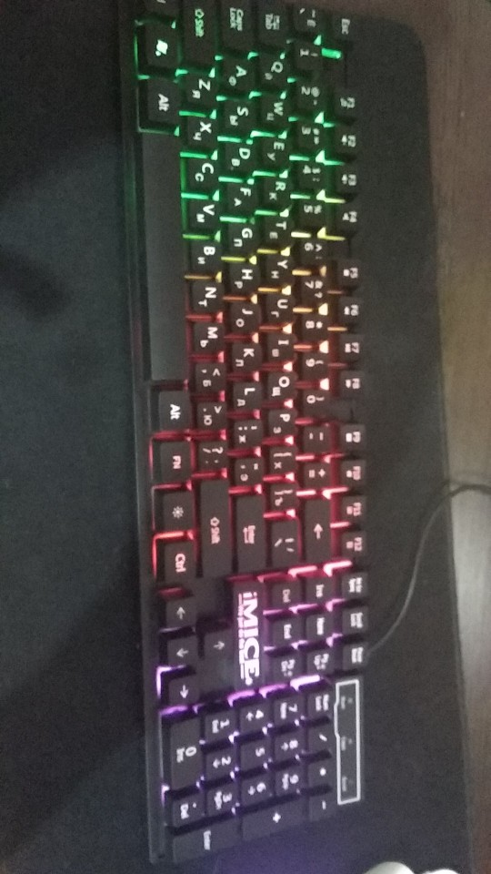 Gaming RGB Keyboard photo review