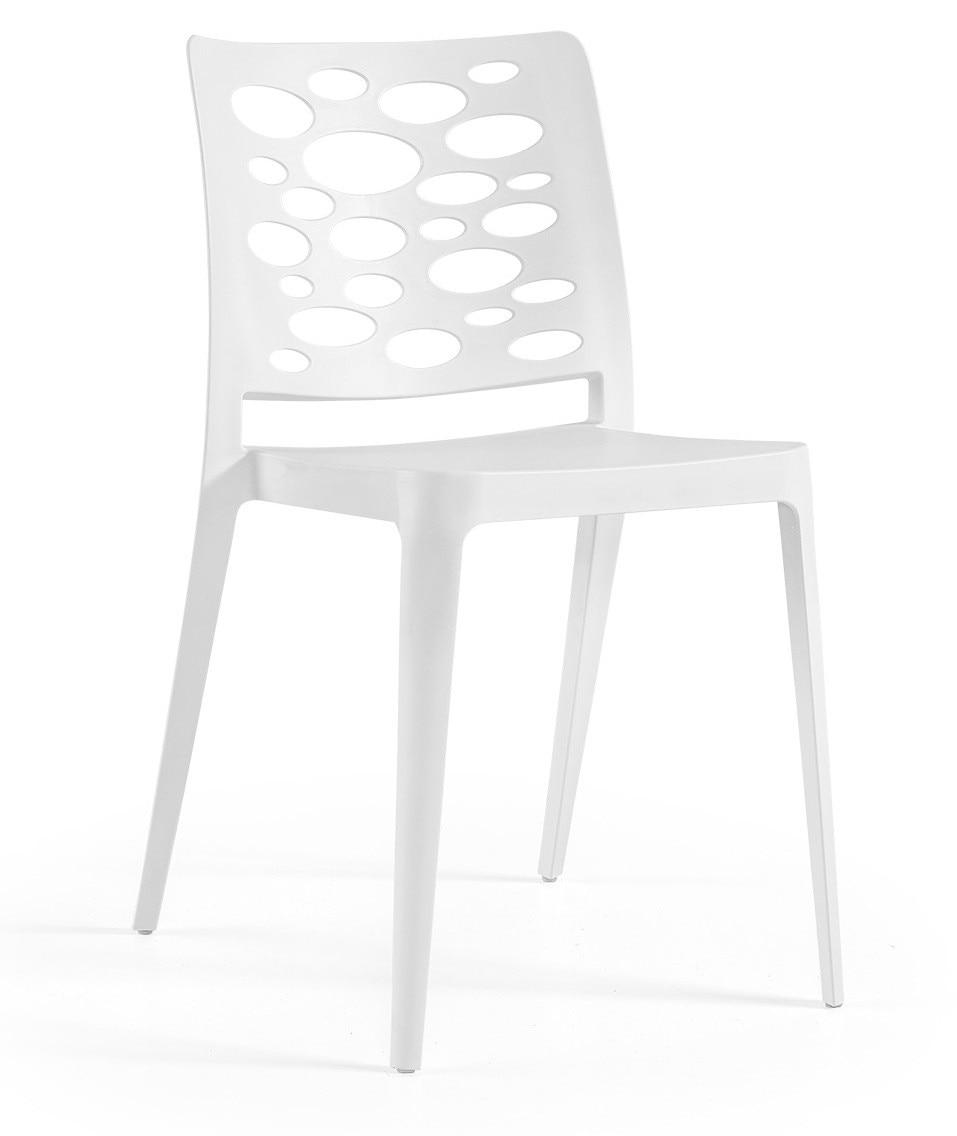 Chair VENICE, Stackable, Polypropylene White *
