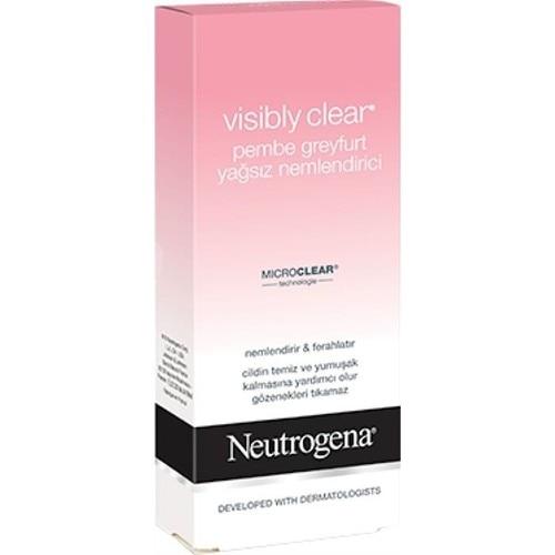 Neutrogena 50 Visível Claro Hidratante Livre de Óleo de Toranja Rosa Ml