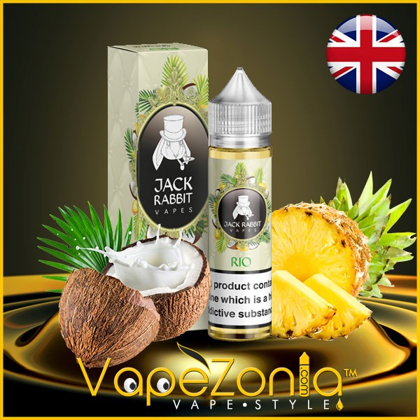 Jack Rabbit Vapes RIO 50 Ml Vape Shop Barcelona