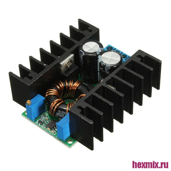 Boost DC-DC Converter XW002EB4 Adjustable CC/CV