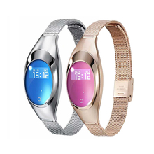 For IOS Android Z18 Fashion Smart Watch Bracelet Fitness Tracker Heart Rate Monitor Blood Pressure Girl Friend Gift Smart Band ak16 women smart band fitness bracelet heart rate monitor blood pressure watch fitness tracker for girl gift