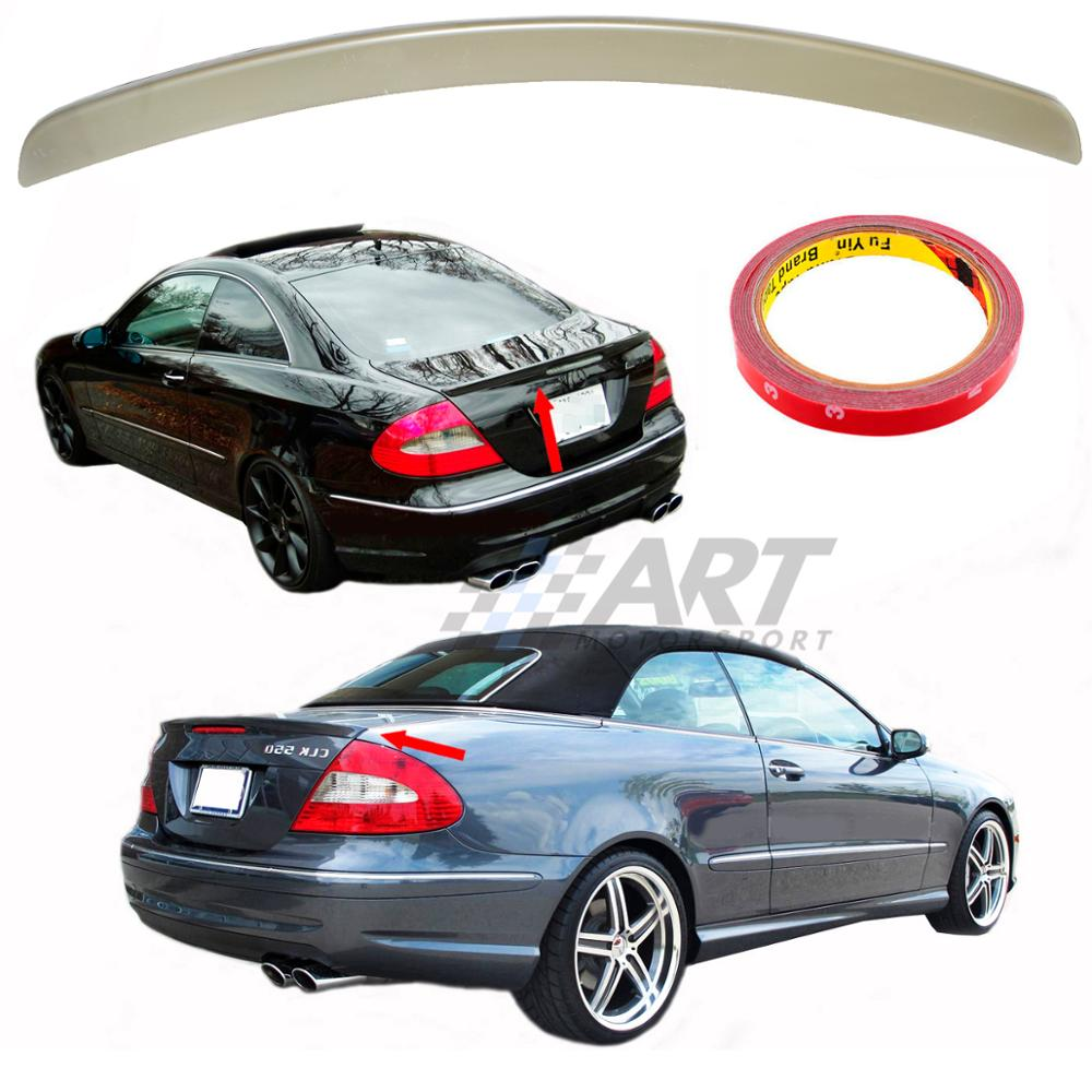 <font><b>Spoiler</b></font> for Mercedes CLK <font><b>W209</b></font> <font><b>spoiler</b></font> made from Abs plastic image