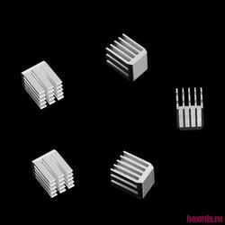 Heizkörper aluminium 9x9x12mm 5 PCs
