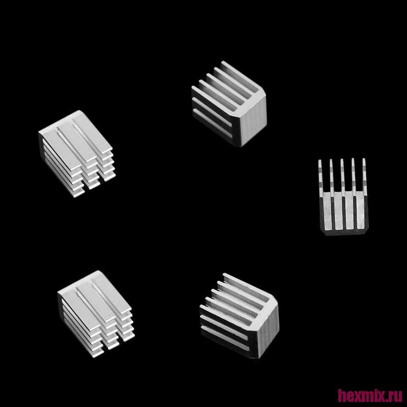 Radiator Aluminum 9x9x12mm 5 PCs