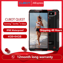 "Cubot Celular para esportes radicais, Helio P22 Octa Core 5.5"" NFC 4000mAh 4GB + 64GB, Android 9.0, Face ID Global Band"