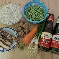 """#美食说出""""新年好""""#冬豆腊味糯米饭的做法图解1"""