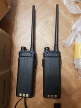 Nice walkie-talkies. They came in charged. Used at the exit, with small terrain changes, a