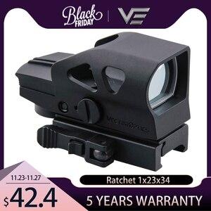Image 1 - Vector optical cliquet GEN II 1x23x34, multi réticule de vue, vert et rouge, avec QD 20mm, support pour chasse