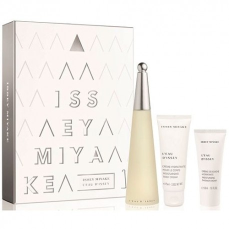 ISSEY MIYAKE L EAU D ISSEY EDT 100ML + GIFT BODY LOTION CREAM SHOWER +