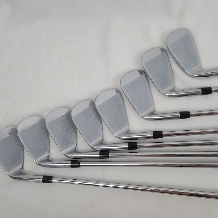 JPX919 fers de Golf JPX 919 Clubs de Golf fer ensemble 4-9PG noir acier graphite arbre pilote coin sauvetage Putter