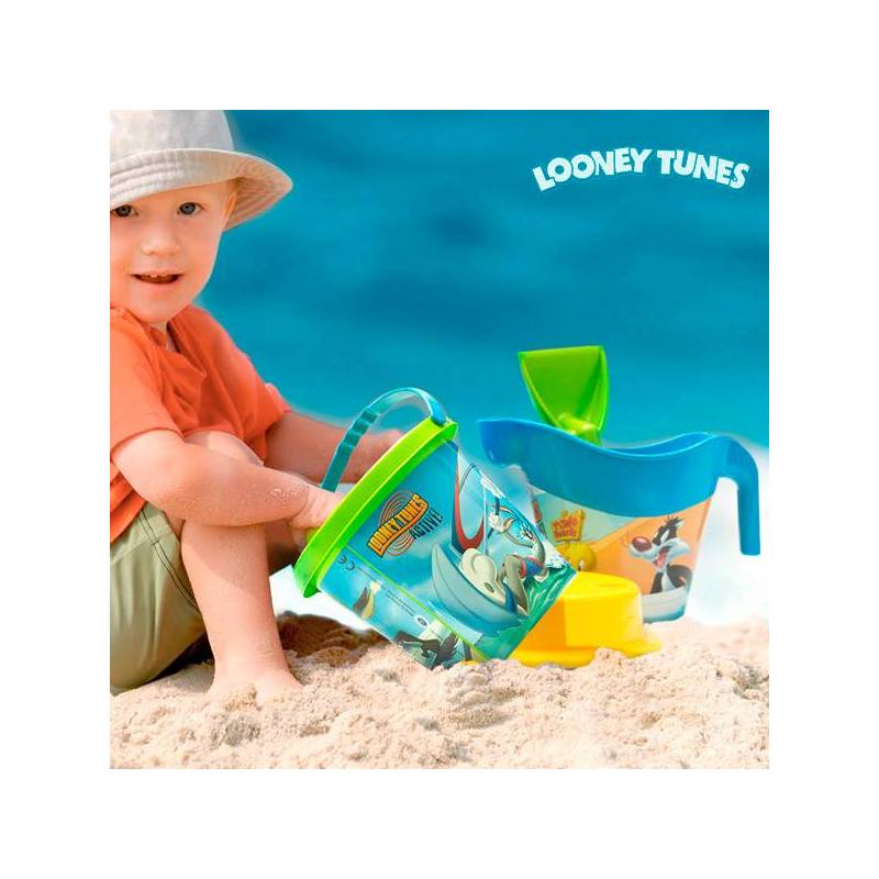 Beach Game With Watering Can Looney Tunes (5 Pcs)