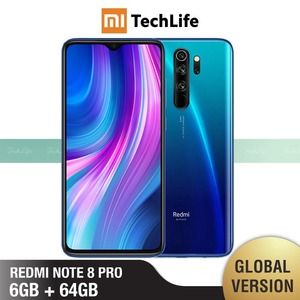 Global Version Xiaomi Redmi Note 8 Pro 64GB ROM 6GB RAM (Brand New / Sealed) note 8 pro, note8pro, note8