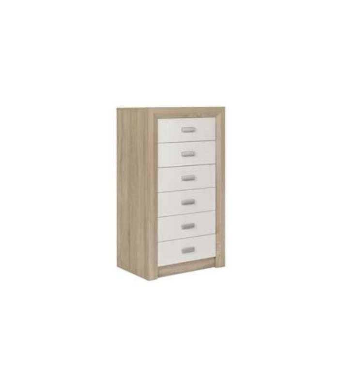 Crawley Solid 6 Drawers Given