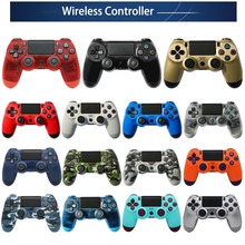 Control For Ps4 Console Dualshock 4 Bluetooth Wireless Ps4 Controller Gamepad Joystick Game Pad Joypad For PlayStation 4  PS3 PC vanpower wireless game controller blueooth gamepad joystick game handle controller for ps4 playstation console