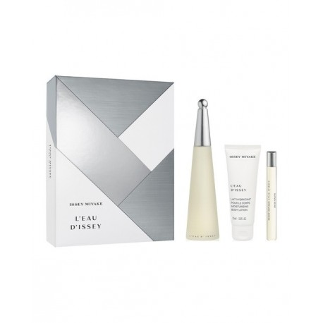 ISSEY MIYAKE L EAU D ISSEY WOMAN EDT 100ML + 75ML + MINI EDT 10ML