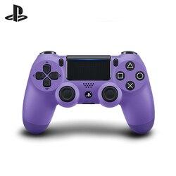 أذرع التحكم في ألعاب الفيديو أرجواني لاسلكي (DualShock 4 Cont كهربائي أرجواني: CUH-ZCT2E: SCEE)