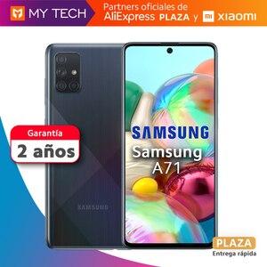 Smartphone Galaxy A71, oryginalny telefon komórkowy, stara 2 gwarancja, bezpłatny z hiszpanii, Aliexpress square, 128GB