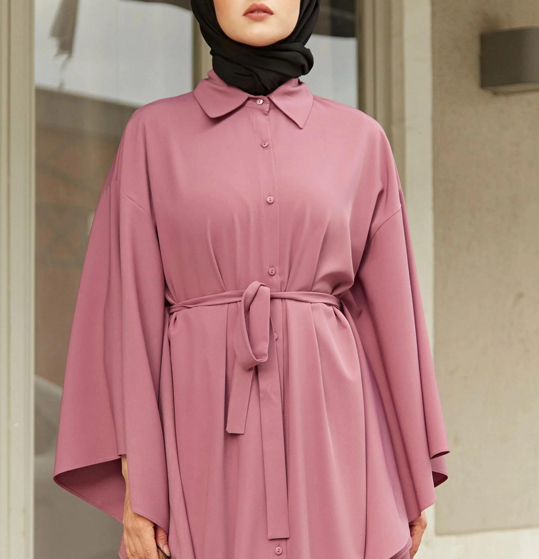 2020 Fashion Woman Fashion Style Abaya, Quality materials, Colorful dresses. From Turkey Muslim Dress.
