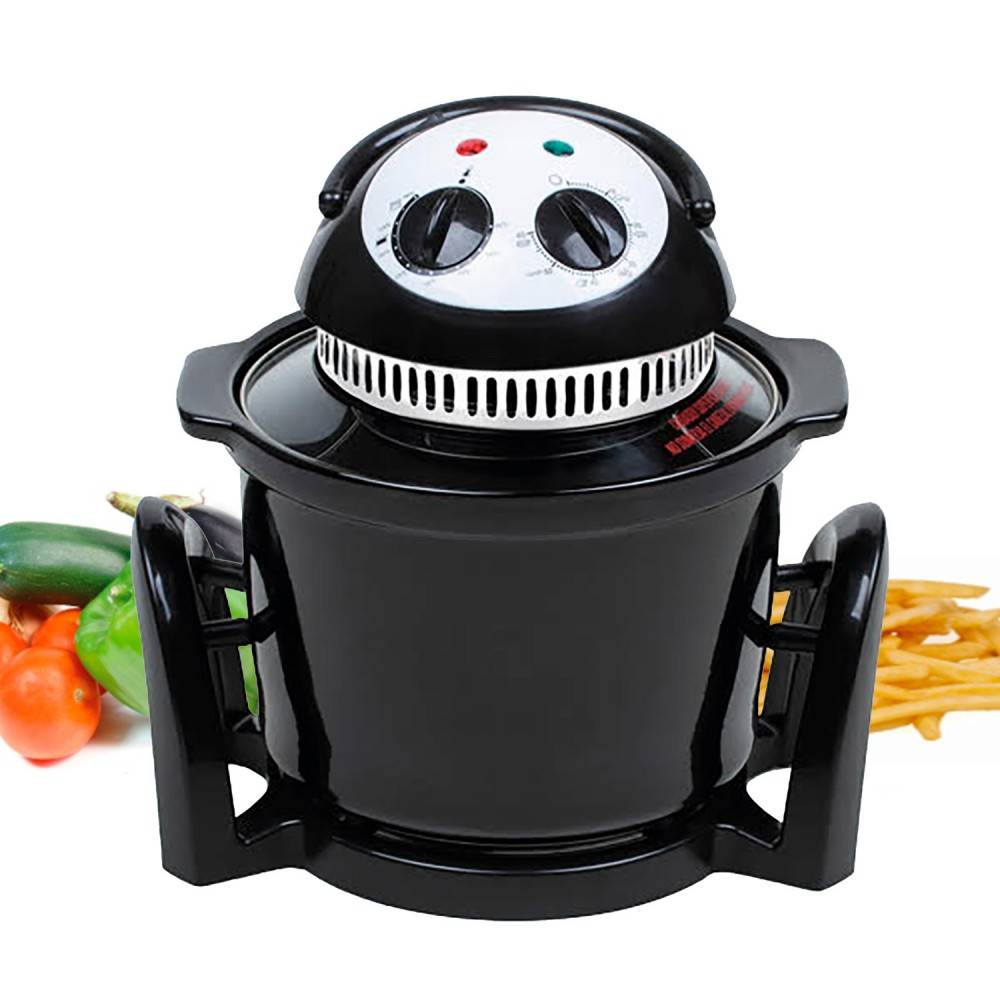 Oven Frying Pan Dietary 5L. Hot Air Convection System. Fries And Bakes With Only One Product And Poco Oil