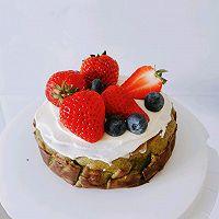 【低碳水】抹茶巴斯克芝士蛋糕~零难度‼️的做法图解12